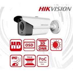 Hikvision Analóg csőkamera - DS-2CC12D9T-IT5E (2MP, 3,6mm, kültéri, IR80m, ICR, IP67, WDR, 12VDC/PoC)
